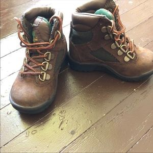 Timberland Toddler Field Boots Size 7c